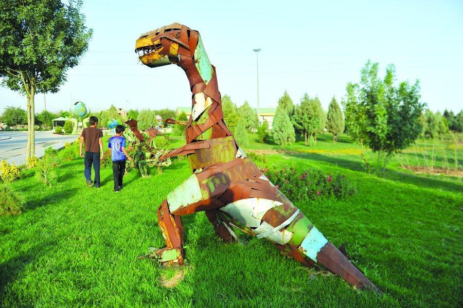 ردپای دایناسورها در علی آباد