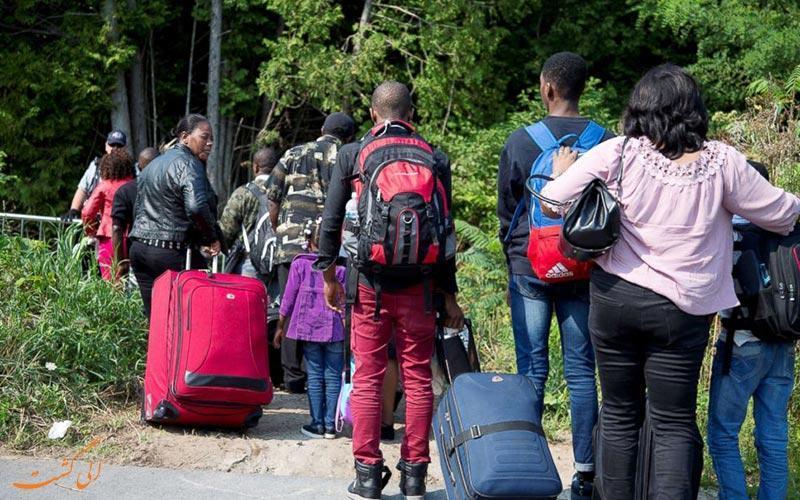همه چیز درباره سختی ها و مسائل پناهندگی