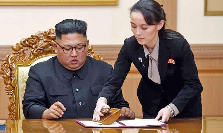 هشدار شدید خواهر رهبر کره شمالی به سئول ، بمباران تبلیغاتی را تمام کنید