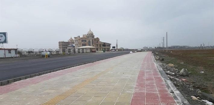 بهره برداری از فاز نخست جاده سلامت بندر ترکمن