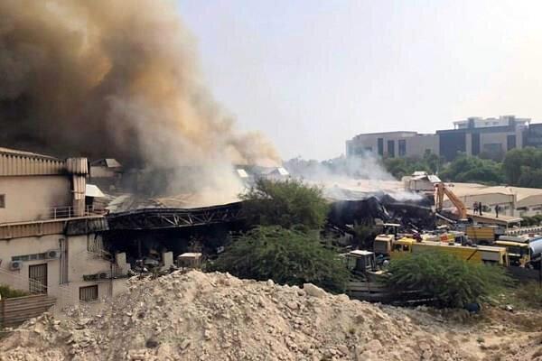 اتصال برق علت آتش سوزی بازار پردیس کیش ، مرگ یک نفر تایید شد