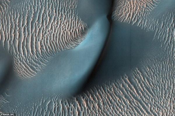 عکس روز؛ جدیدترین نماها از سیاره مریخ